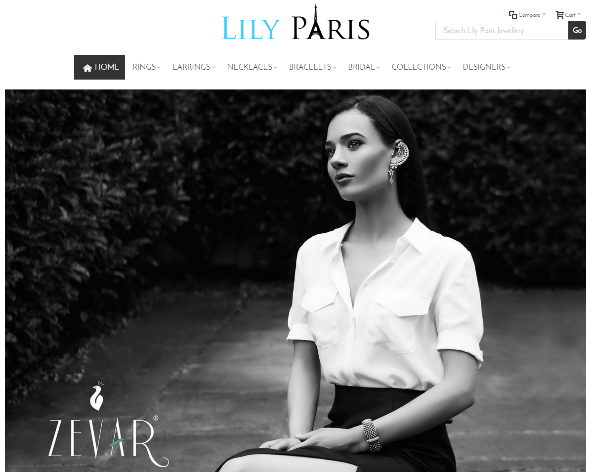 Lily Paris Homepage