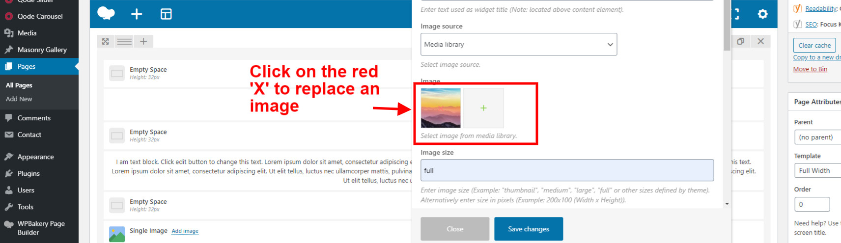 Replace an Image in WordPress