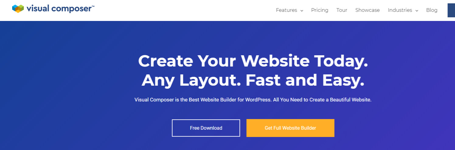 What is Visual Composer and WPBakery Page Builder