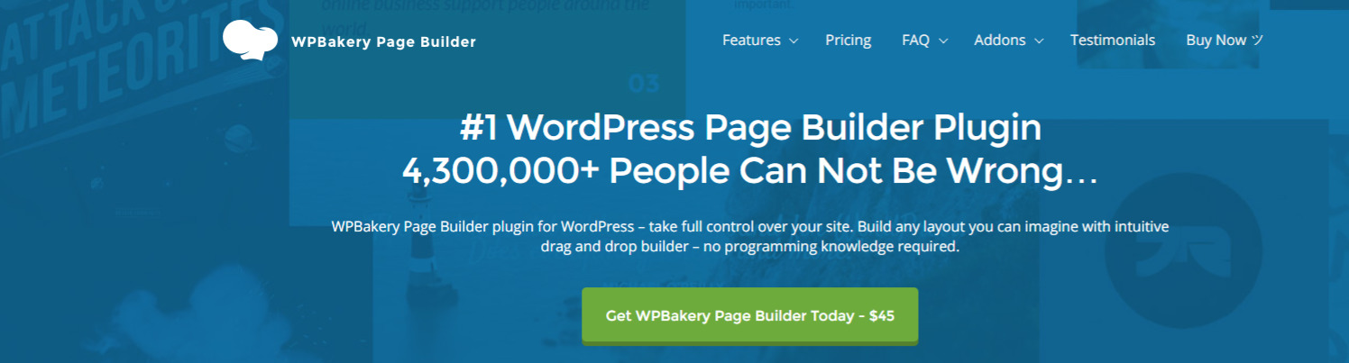 What is WPBakery Page Builder