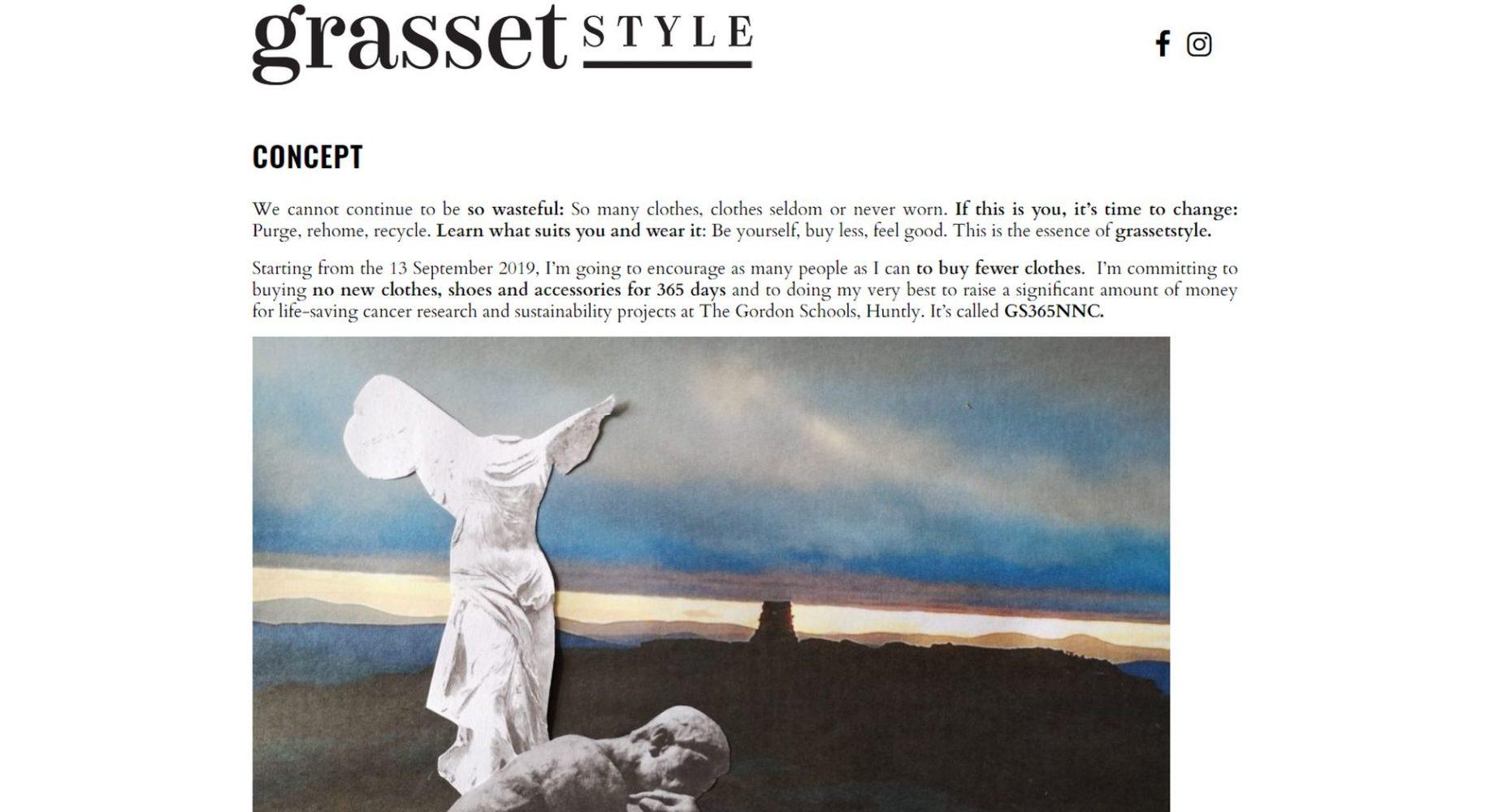 Grassetstyle Homepage