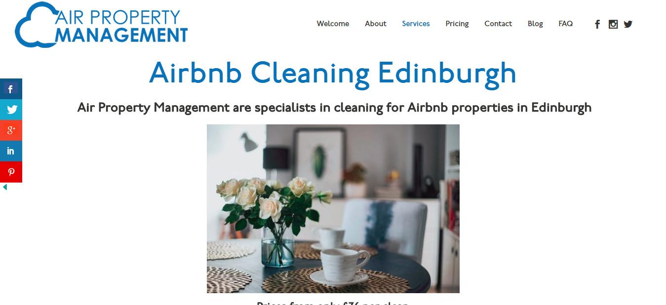 Airbnb Cleaning Edinburgh Holiday Let Cleaning Edinburgh