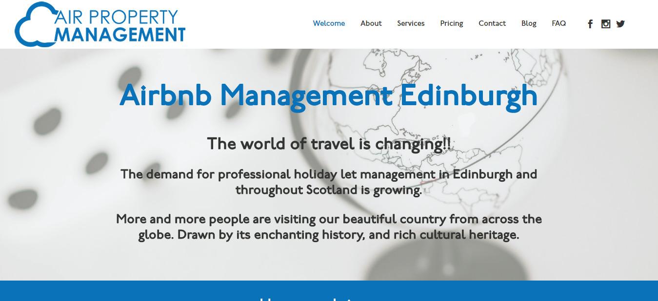 Airbnb Management Edinburgh Air Property Management