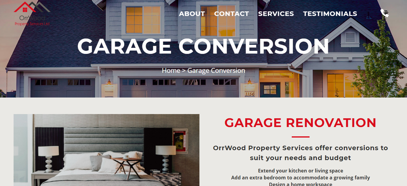 Garage Conversion and Development in Glasgow Call us for a Free Quote