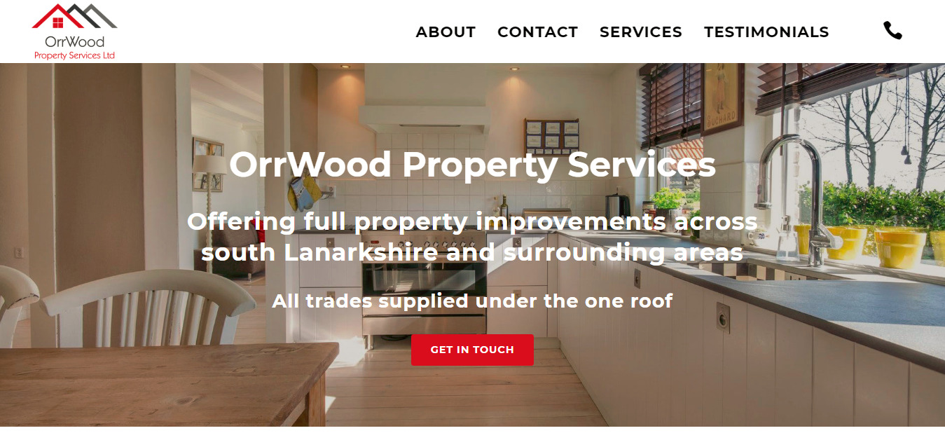 Orrwood Property Services Property Maintenance Glasgow
