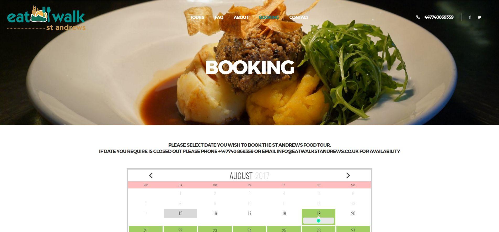 Booking-Eat-Walk-St-Andrews