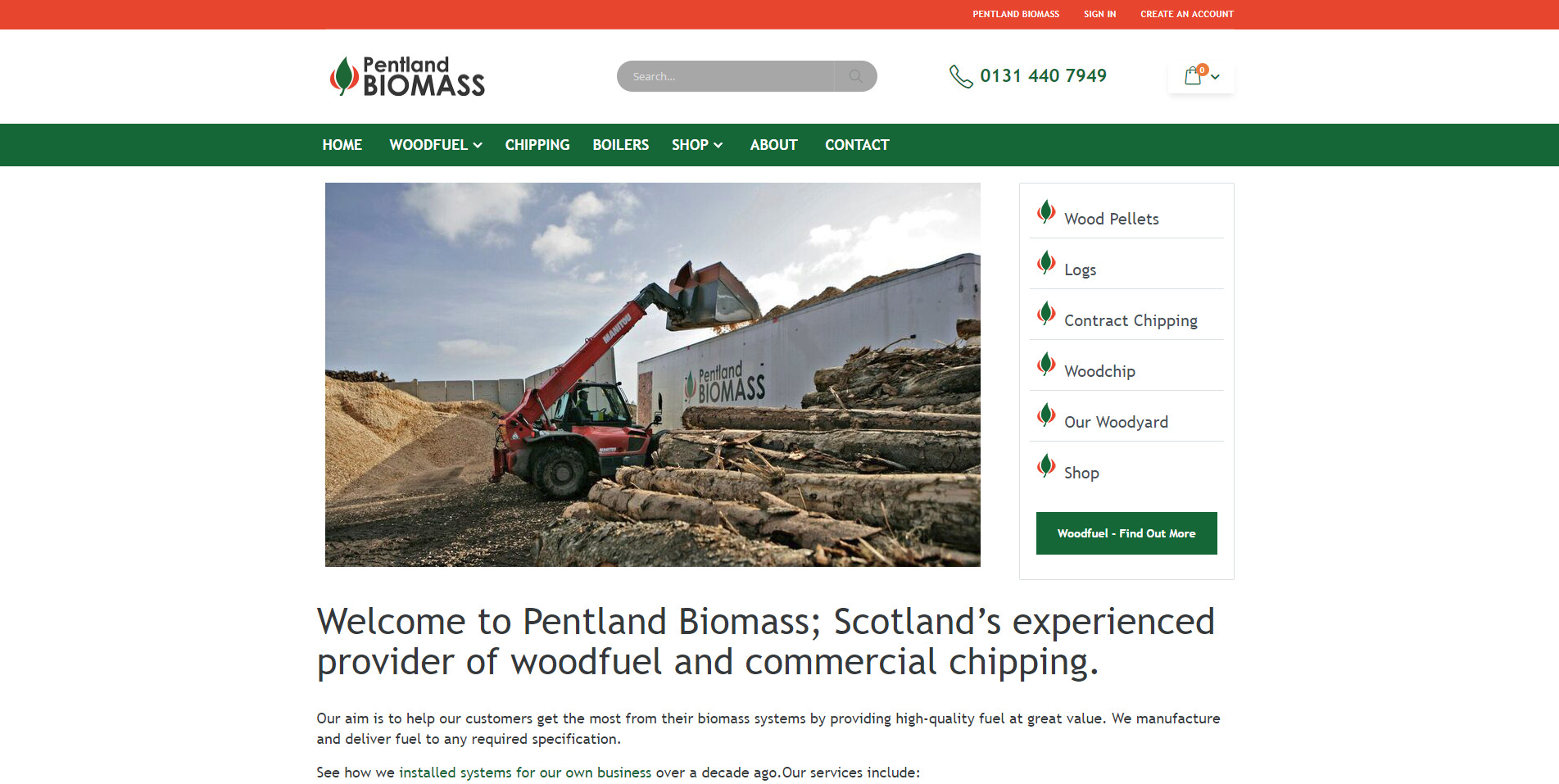 Pentland-Biomass-Homepage-Products-Section