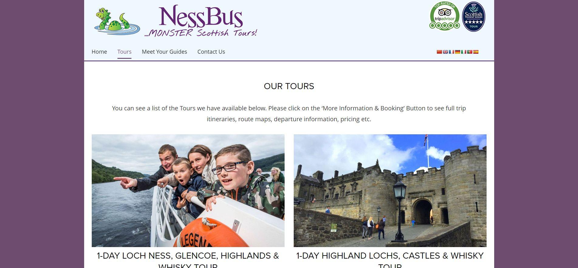 Tours-Ness-Bus