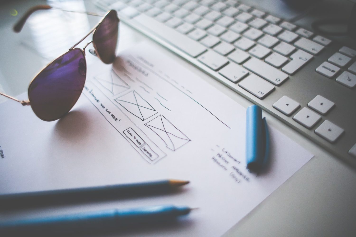 Client requirements for website design