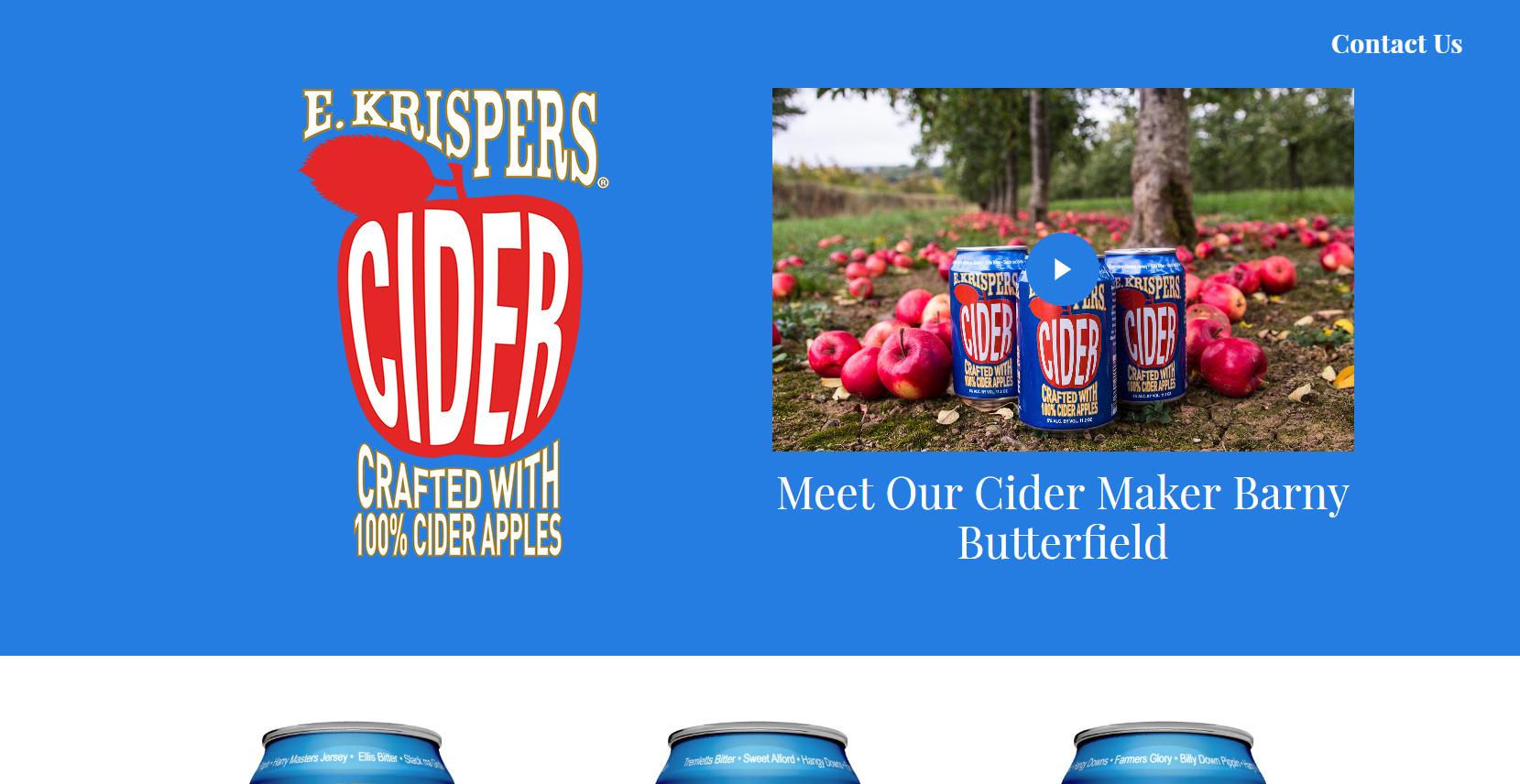 E Krispers Cider
