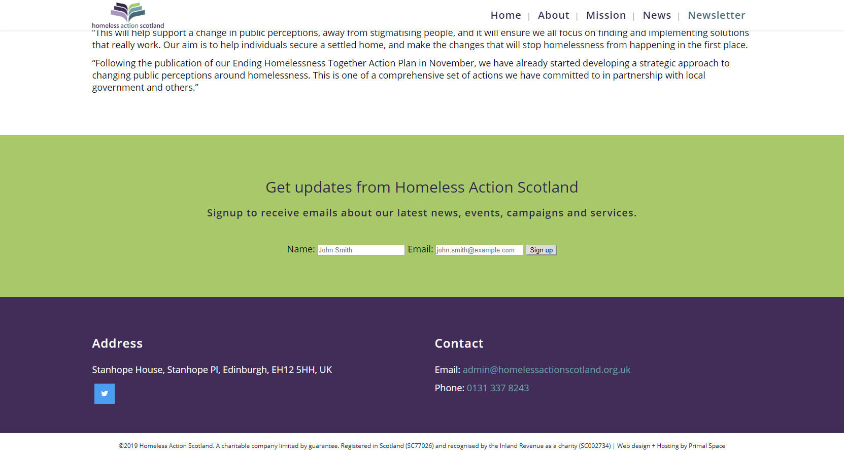 Homepage Homeless Action Scotland (2)