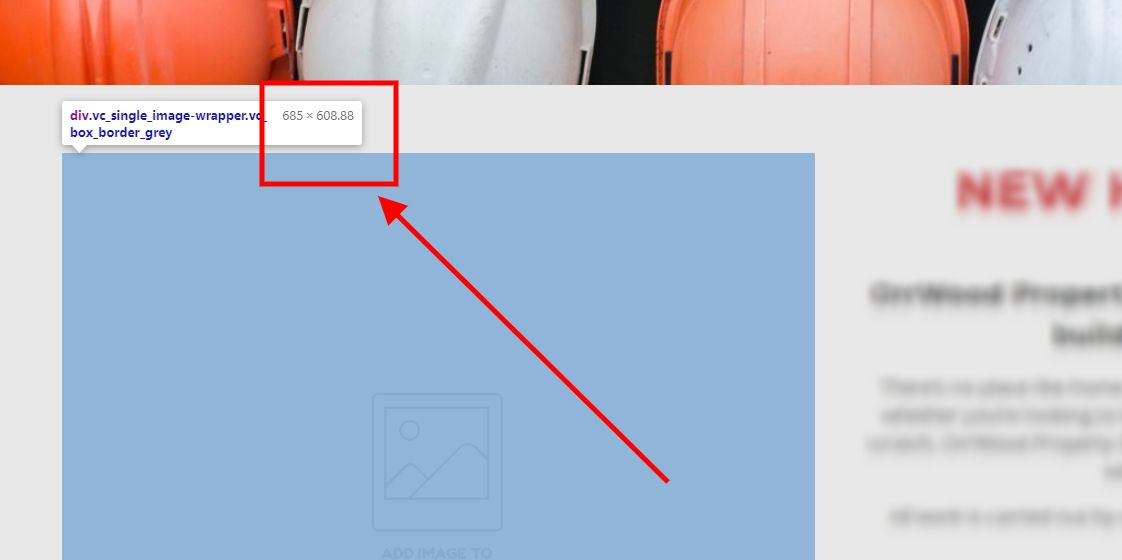 How to Resize Images for Web Use Using Inspect Element
