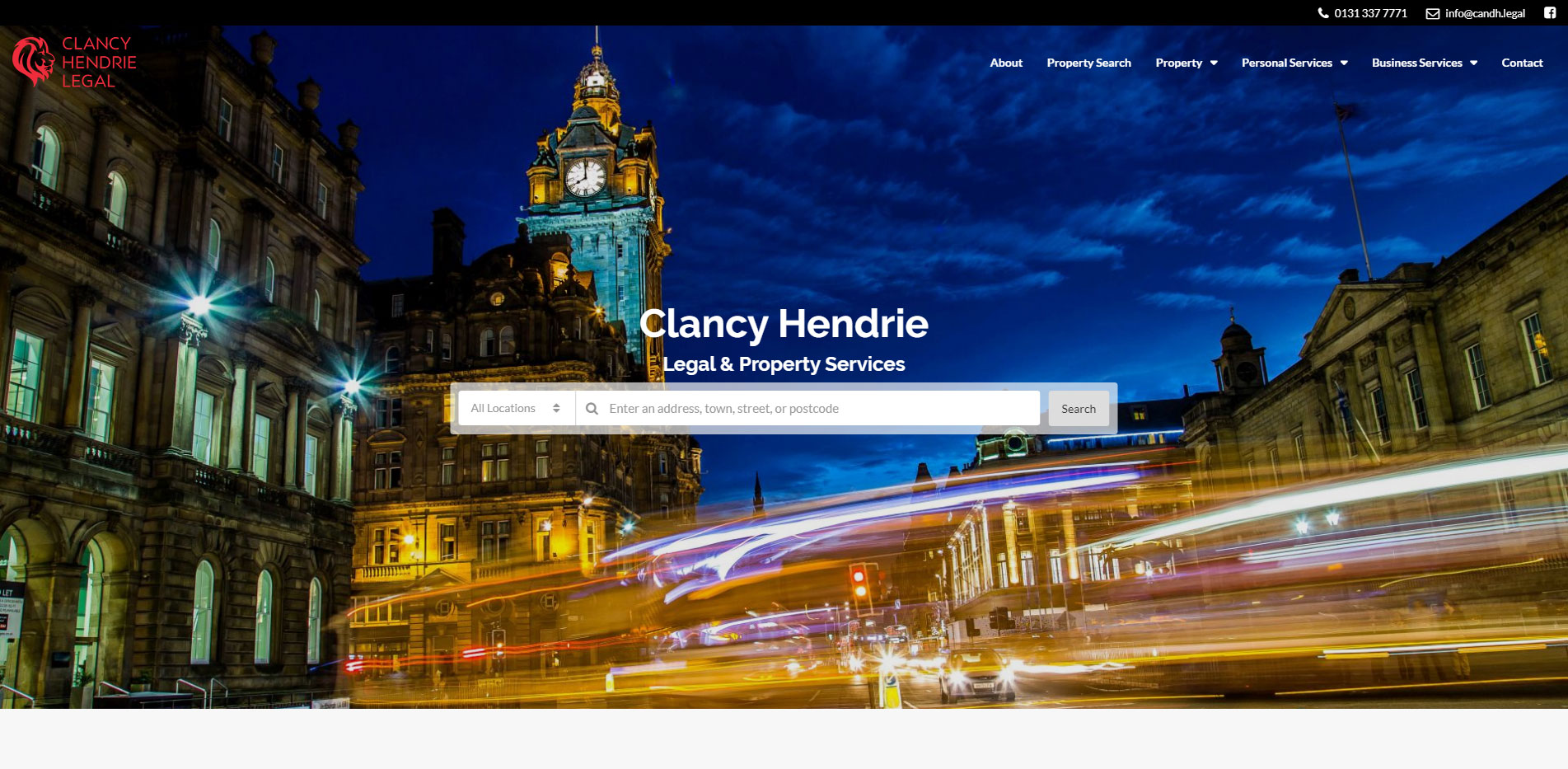Clancy Hendrie Legal About