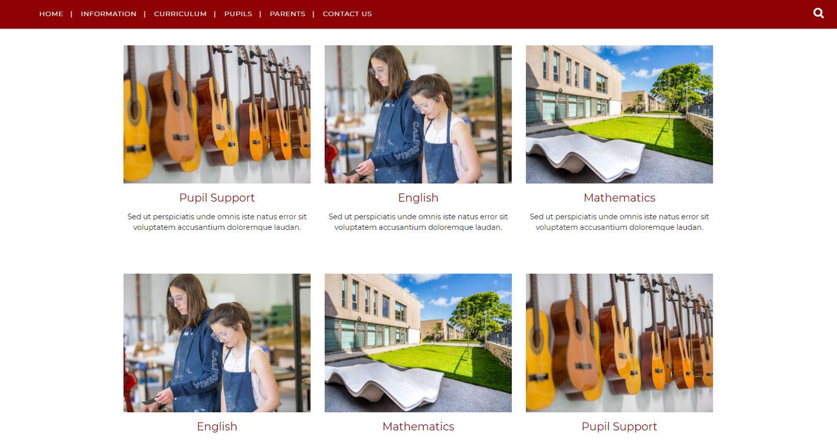 James Gillespie's High School Faculties