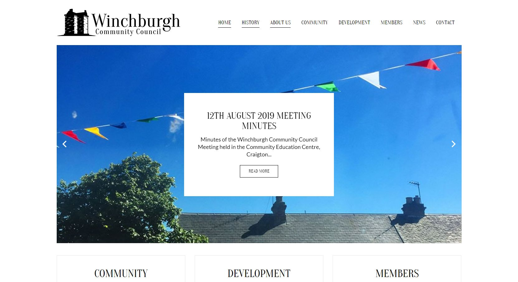 Winchburgh Community Council Header