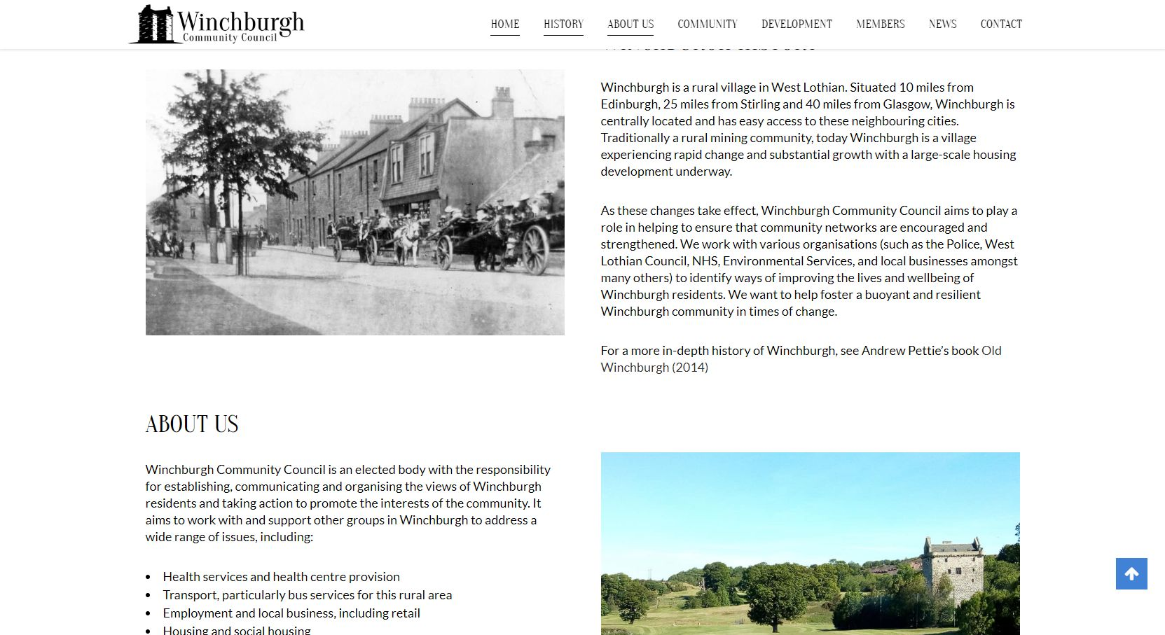 Winchburgh Community Council Homepage