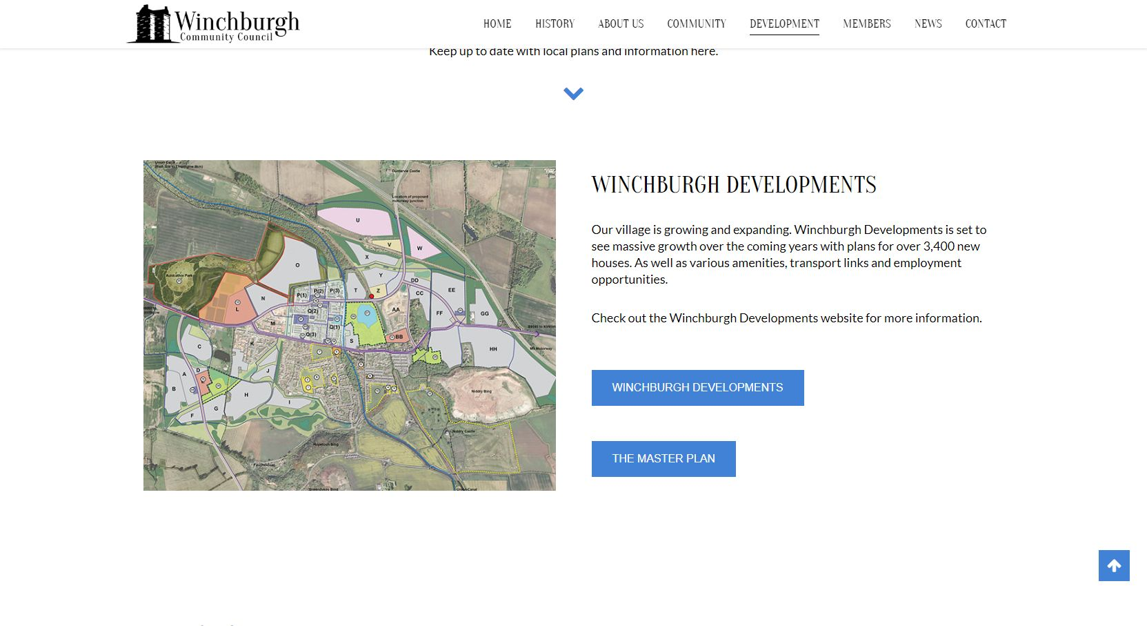 Winchburgh Community Council Development Map