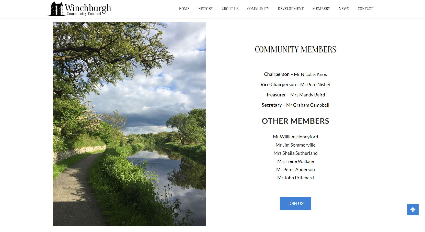 Winchburgh Community Council Development Members