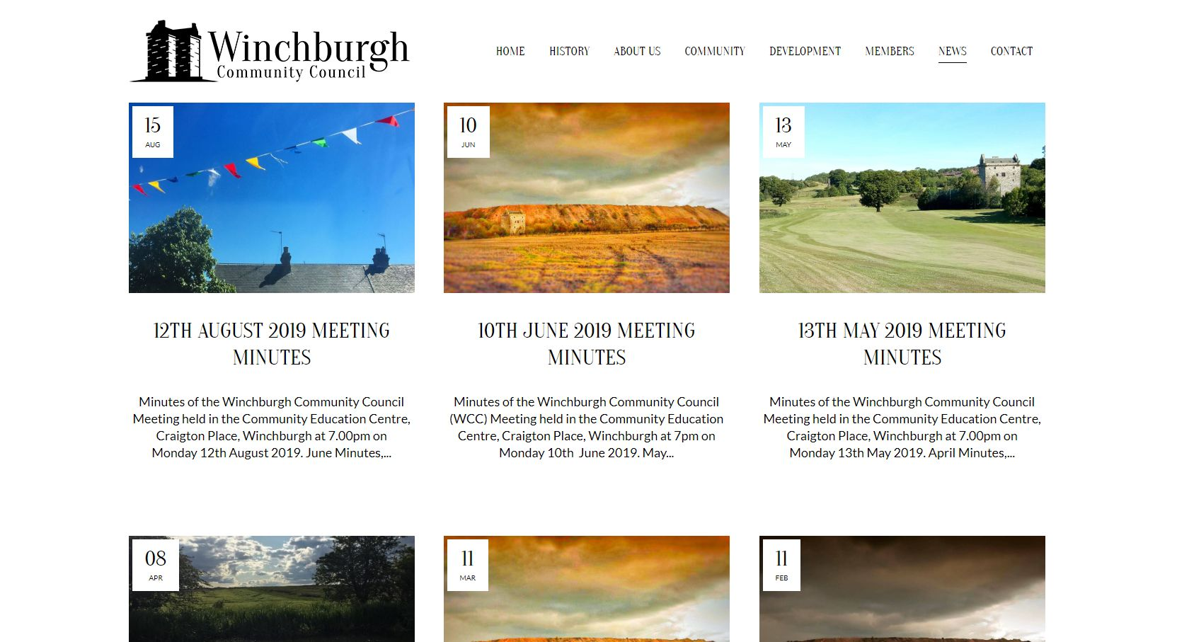 Winchburgh Community Council Development Blog