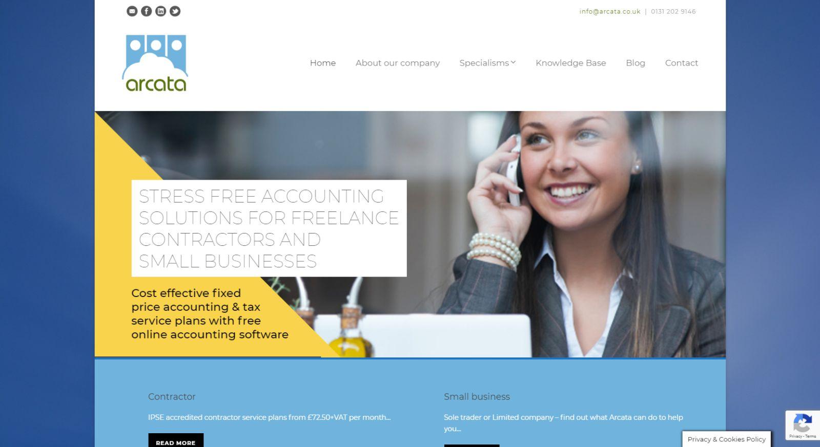 Arcata Homepage