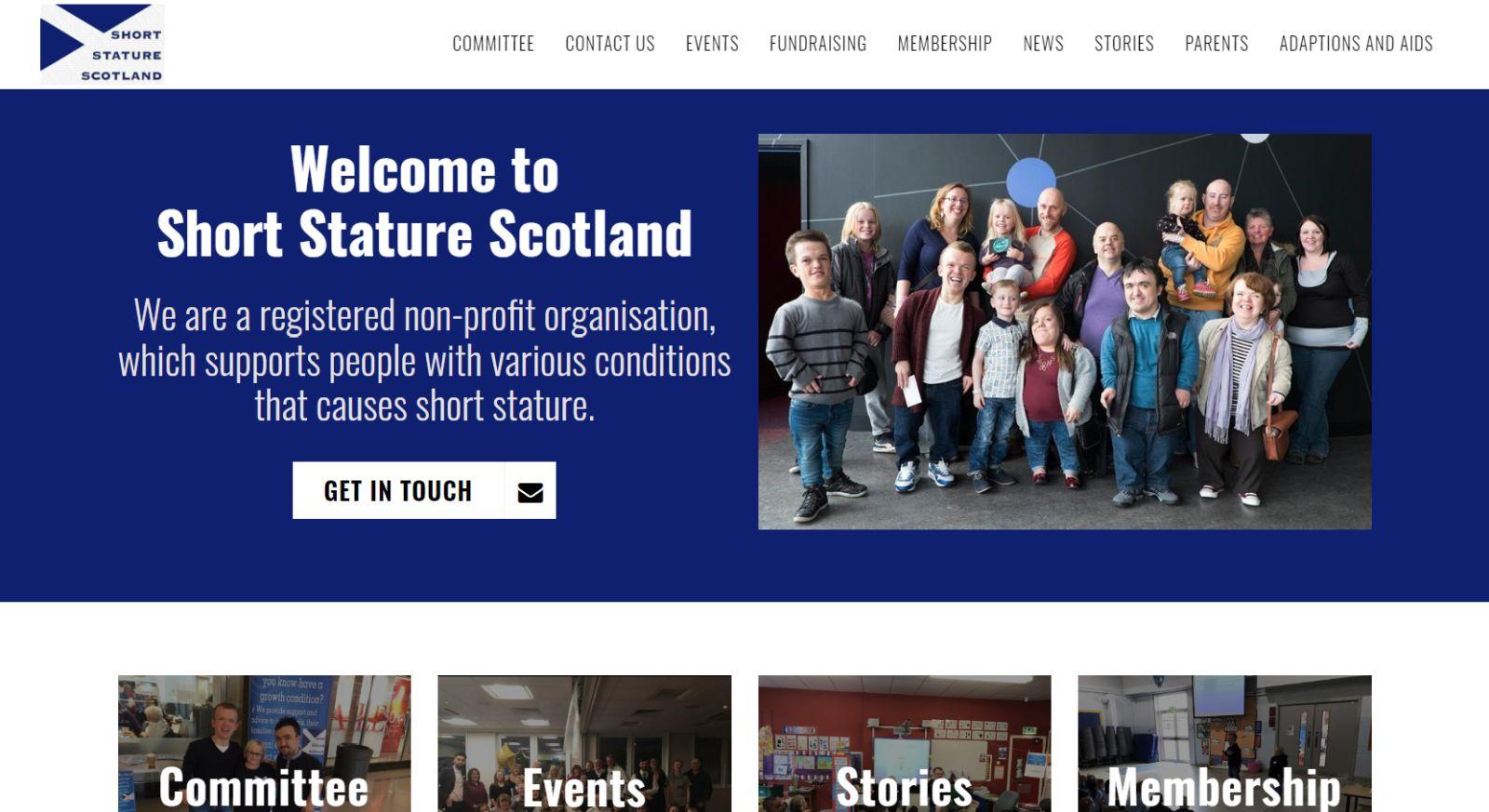 Short Stature Scotland Homepage