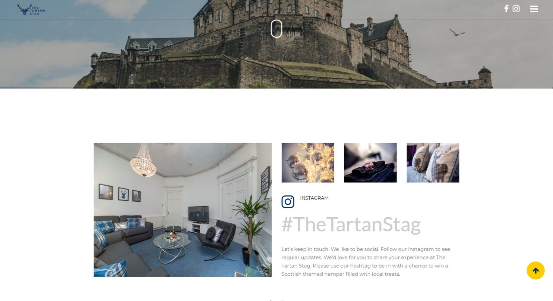 Tartan Stag Website Design Castle