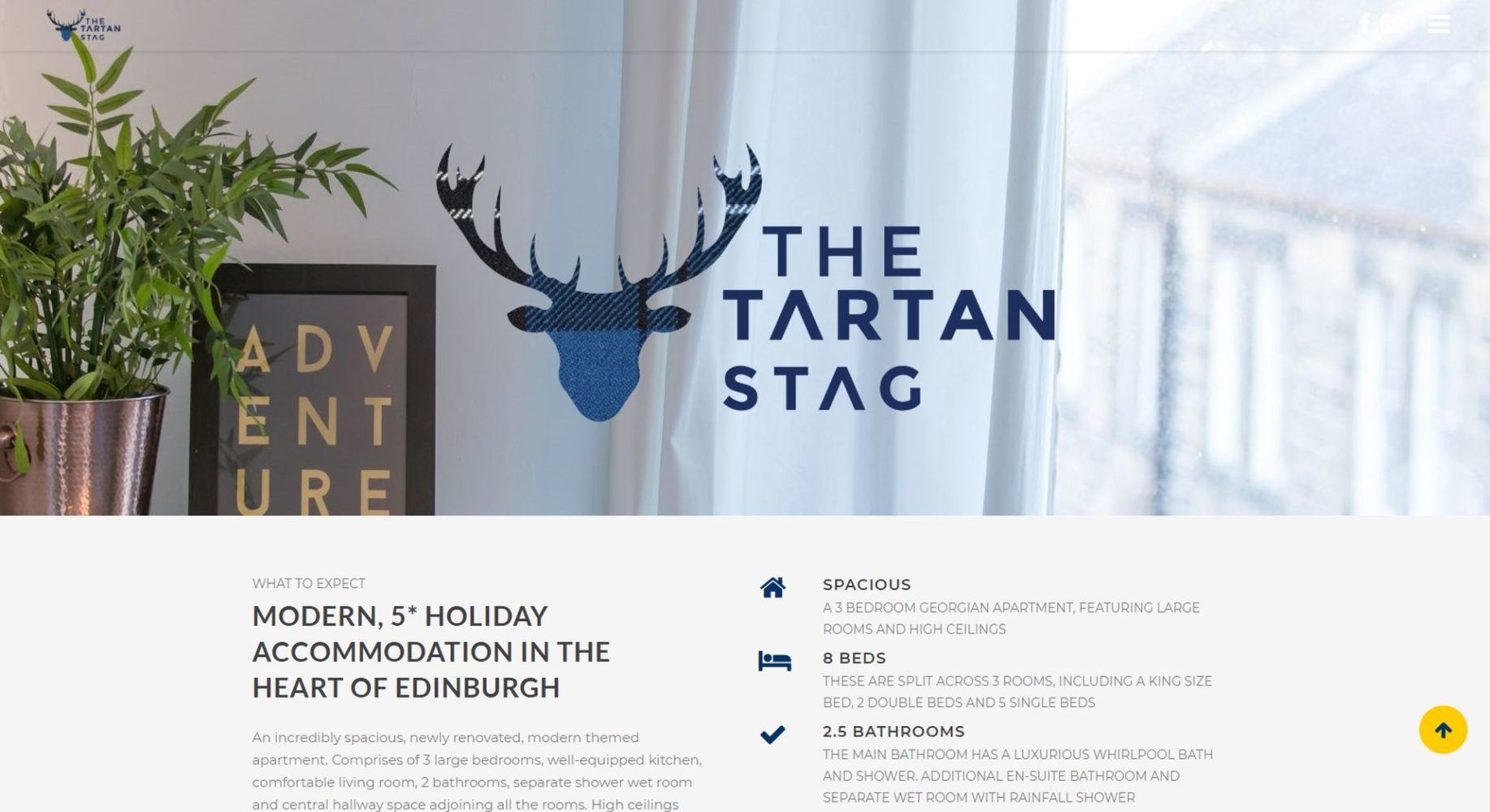 Tartan Stag Website Design Logo