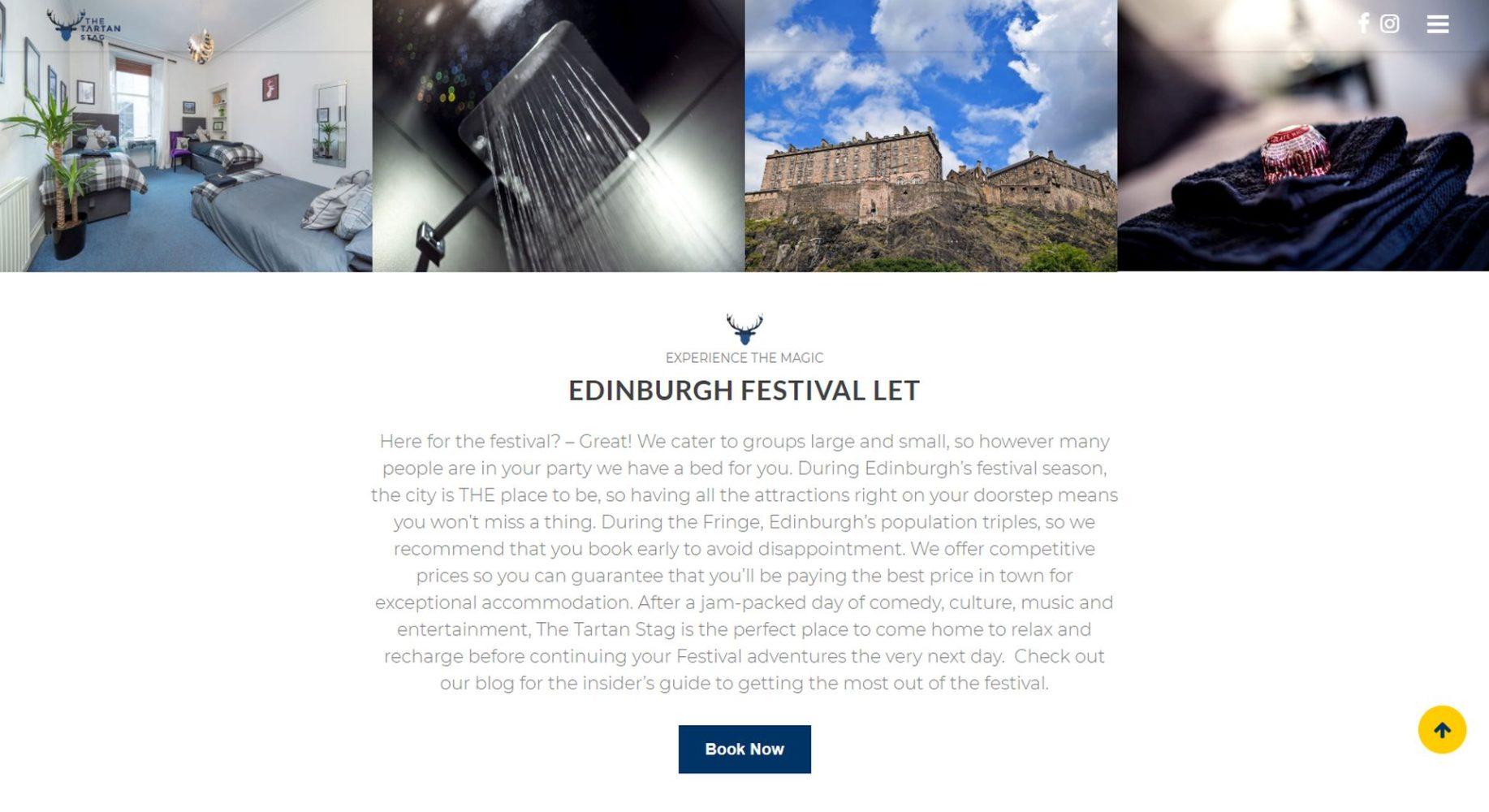 Tartan Stag Website Design Festival