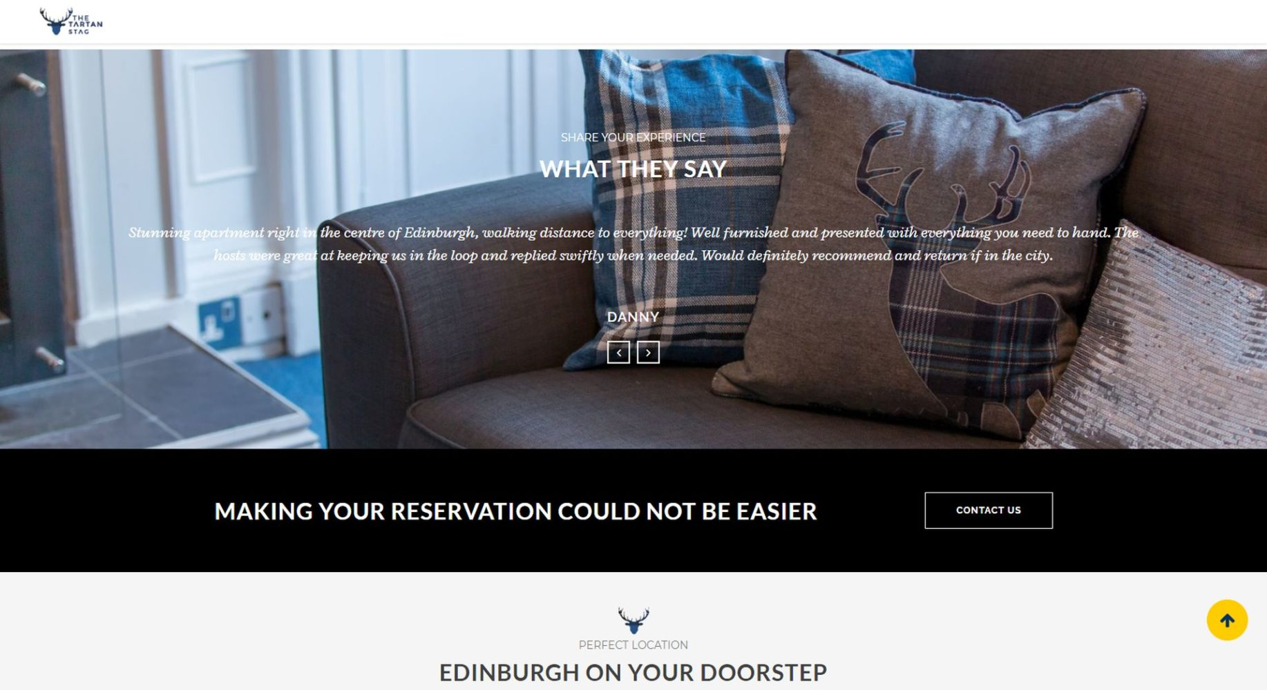 Tartan Stag Website Design Testimonials