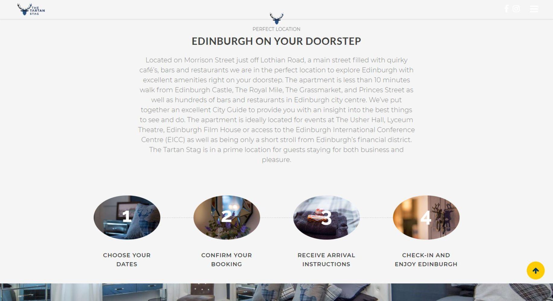 Tartan Stag Website Design Next Steps