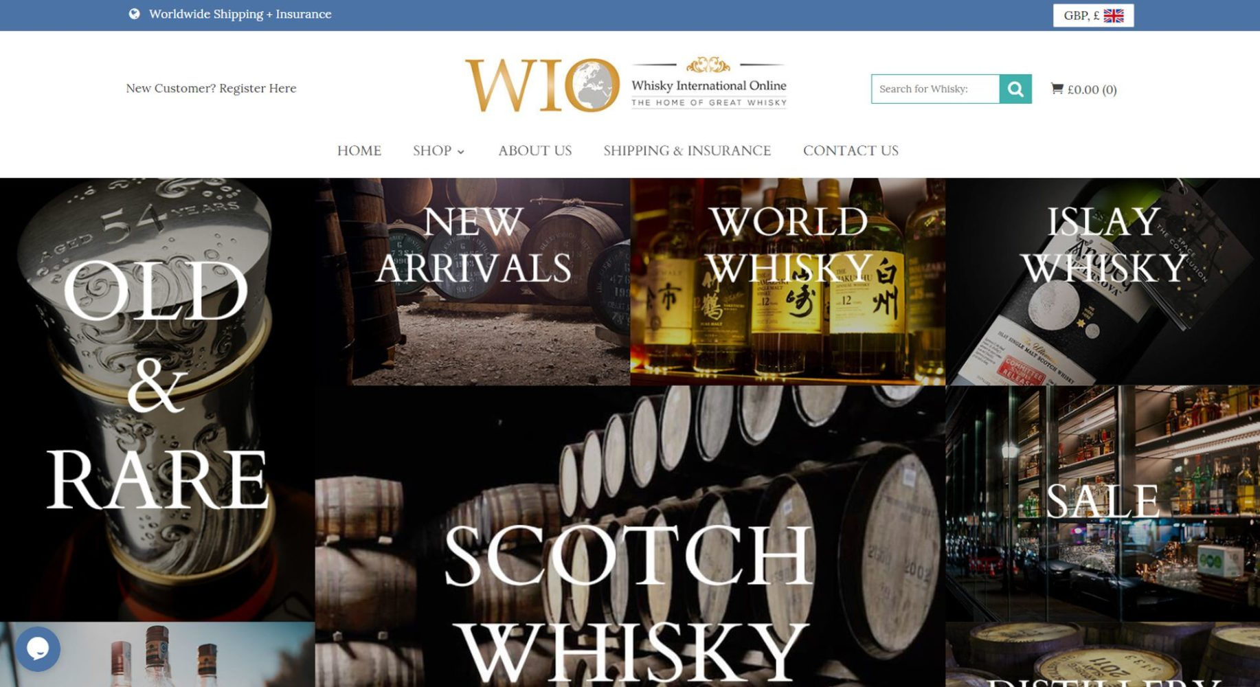 Whisky International Online Gallery