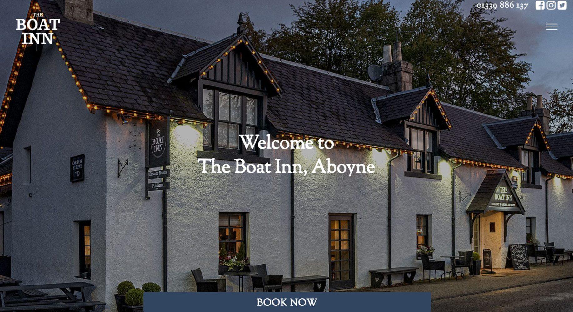 The Boat Inn Aboyne Homepage
