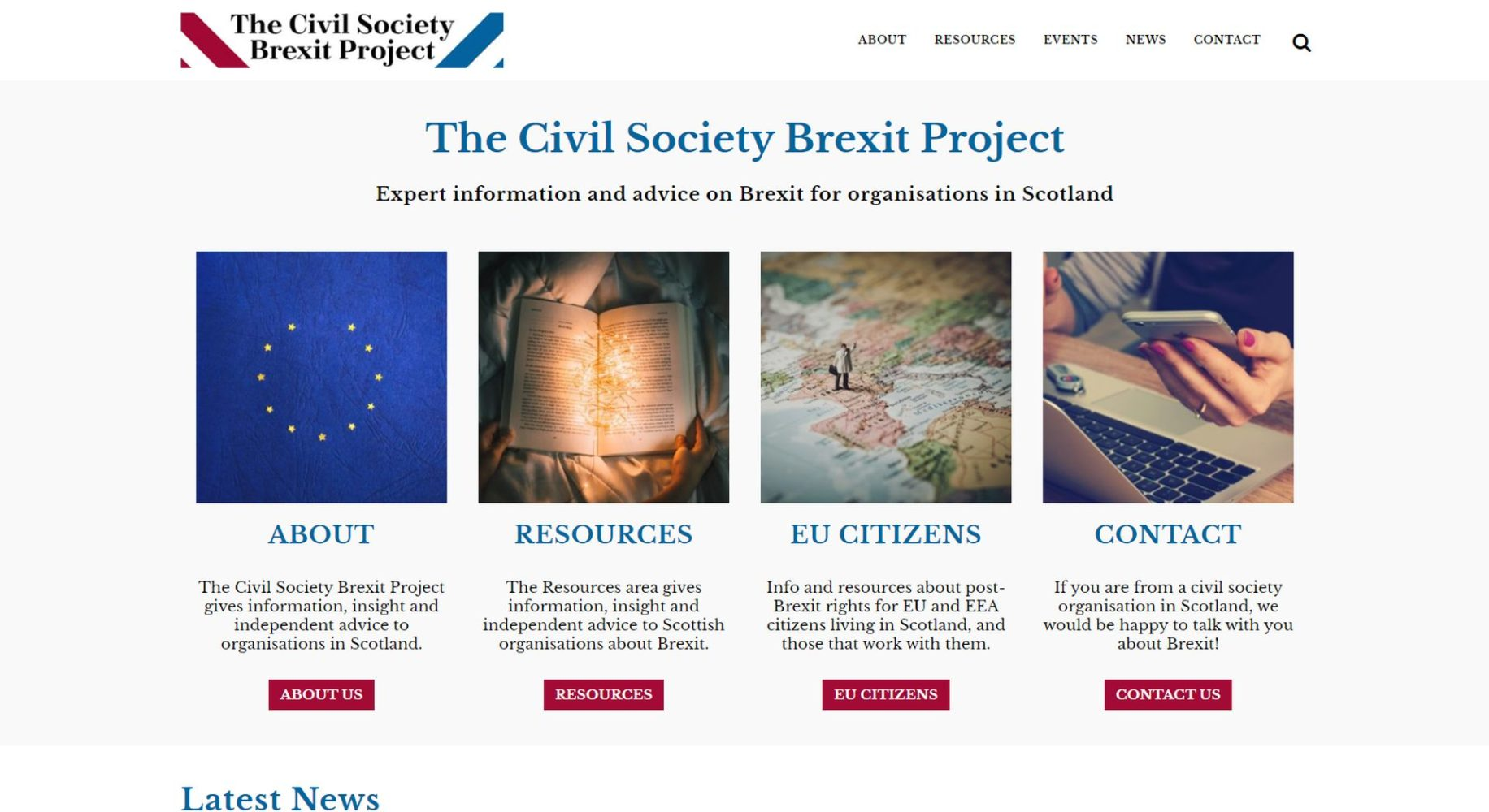 Civil Society Brexit Homepage