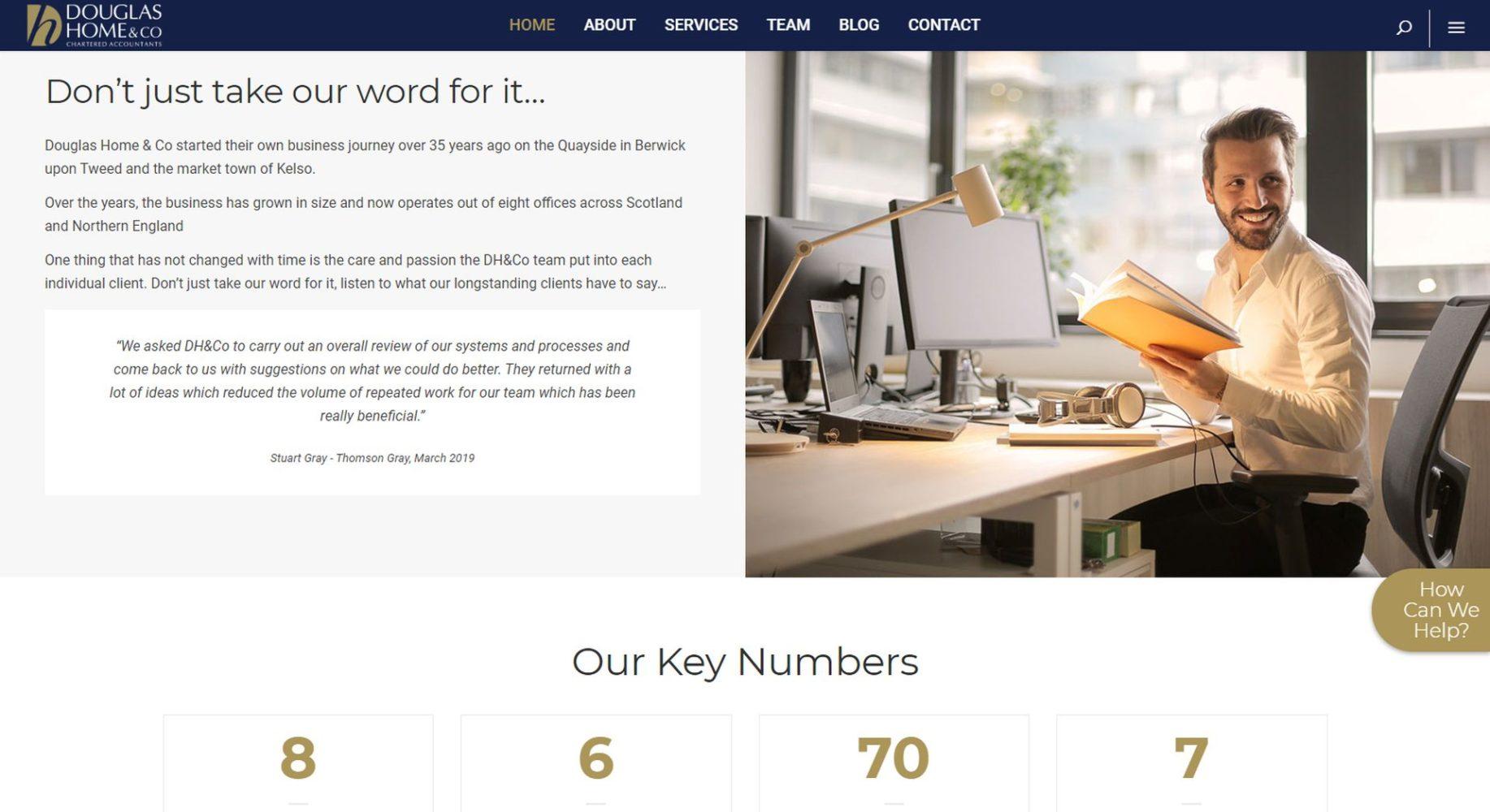 Douglas Home & Co Website Design Homepage