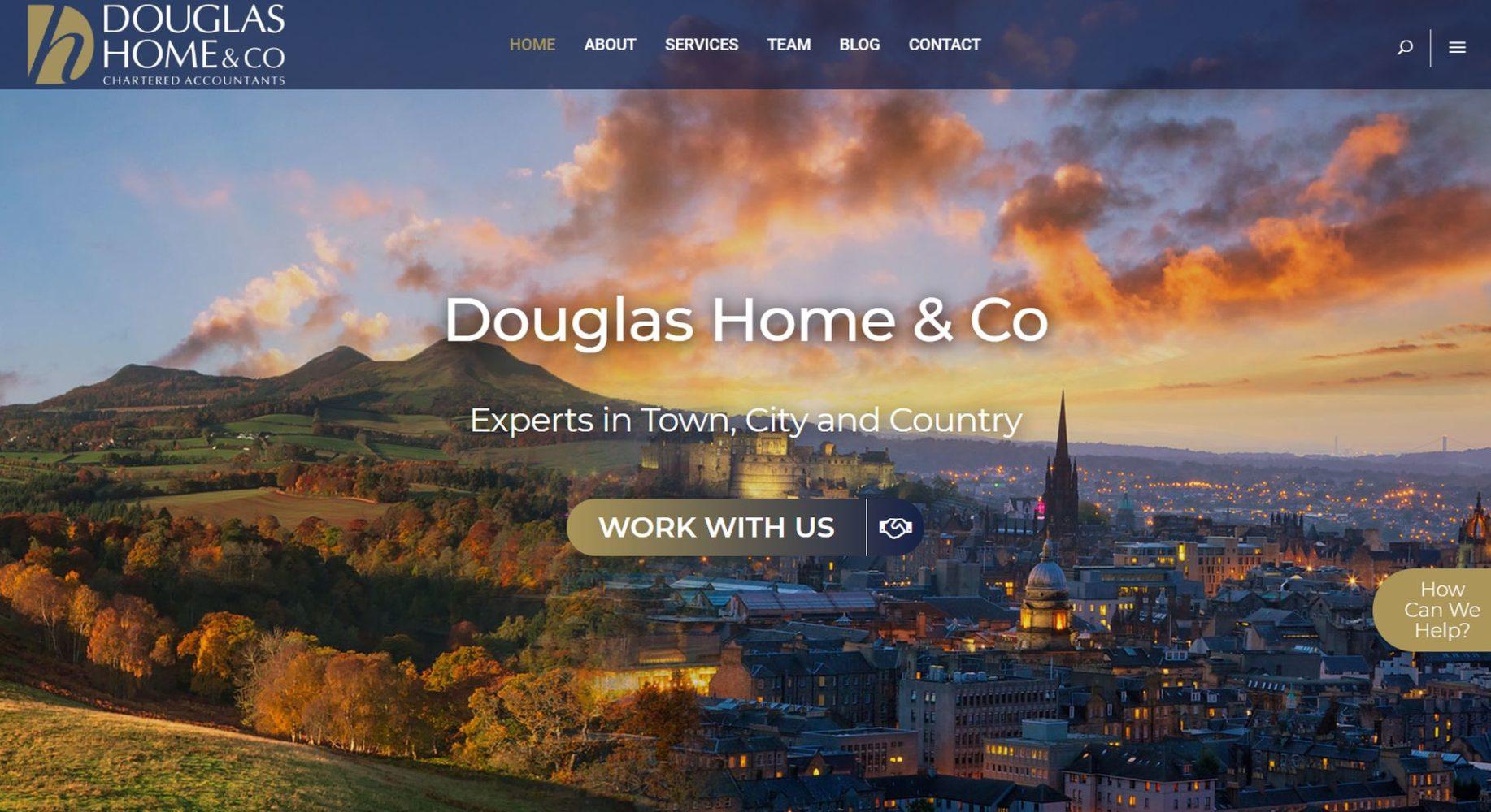 Douglas Home & Co Website Design