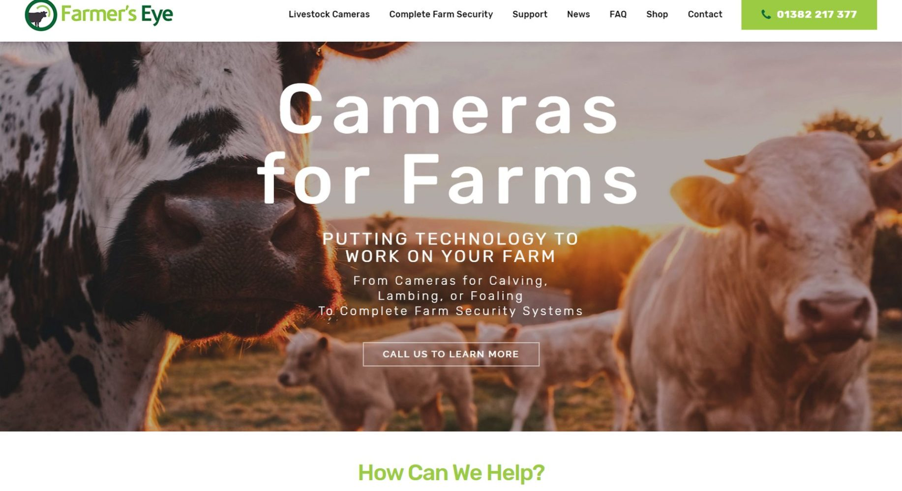 Farmers Eye Homepage