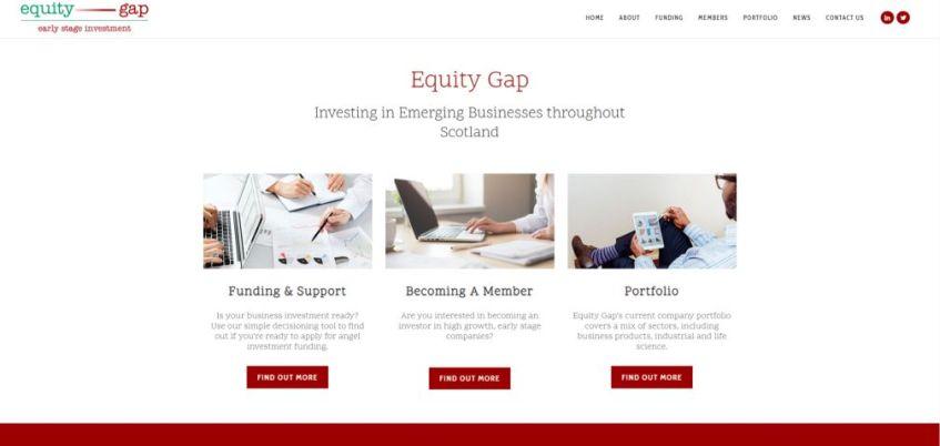 Equity Gap Homepage