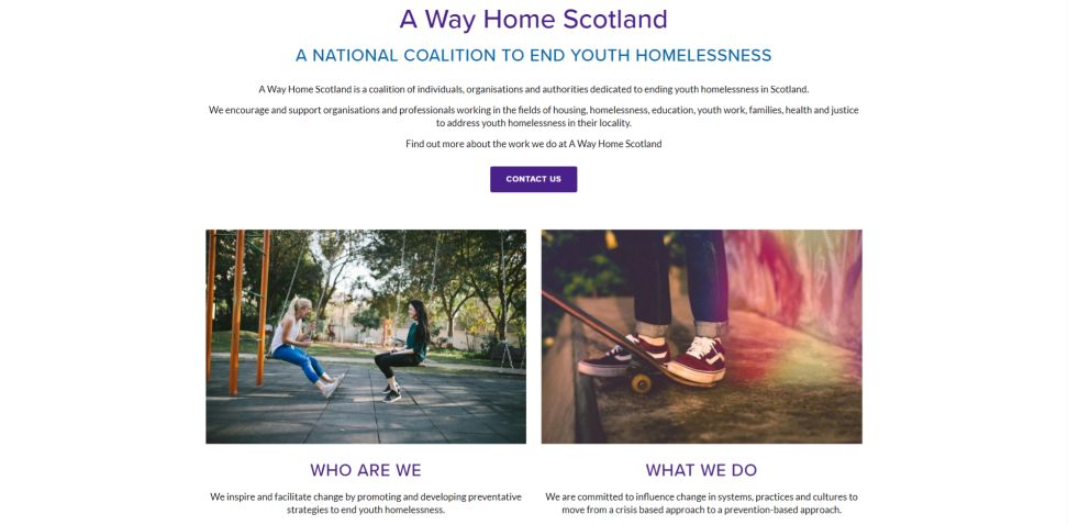 Rock Trust Website Design Services