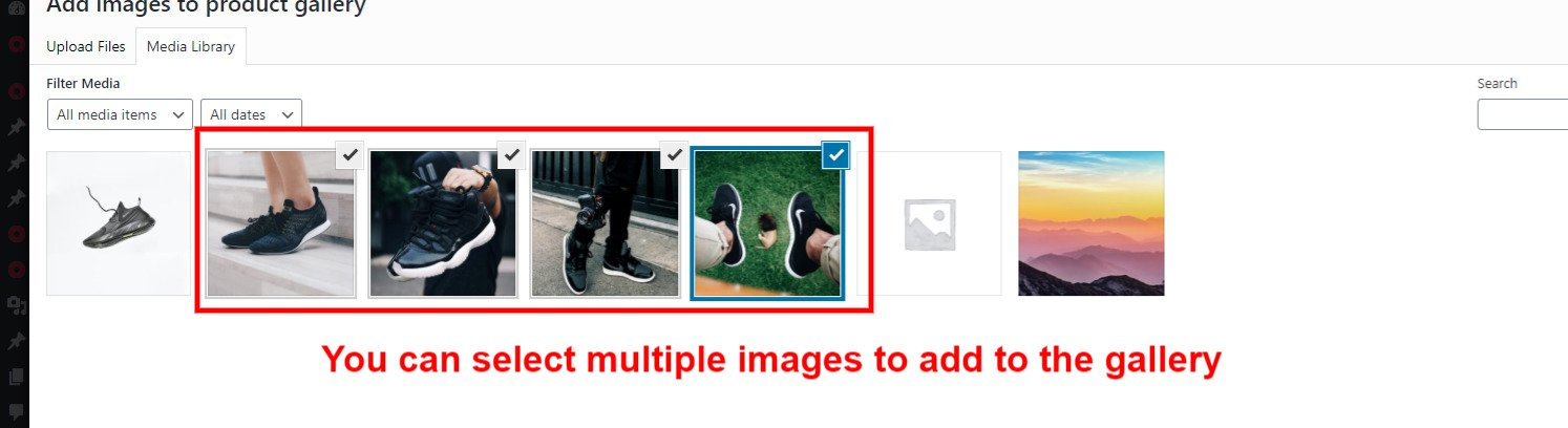 WooCommerce Guide Multiple image gallery
