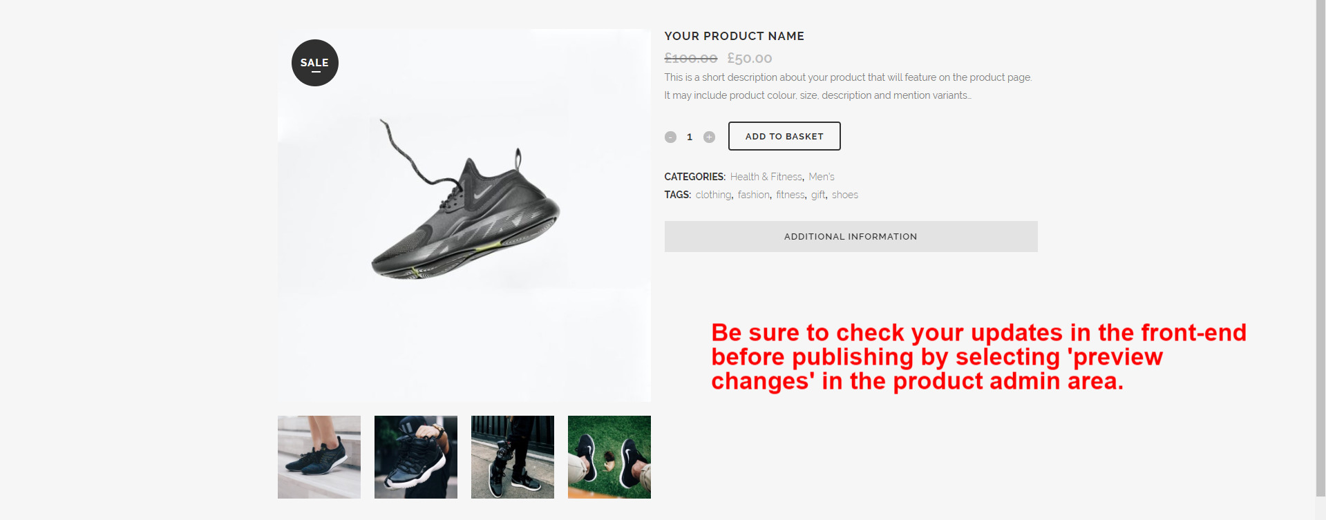 WooCommerce Guide Product Preview